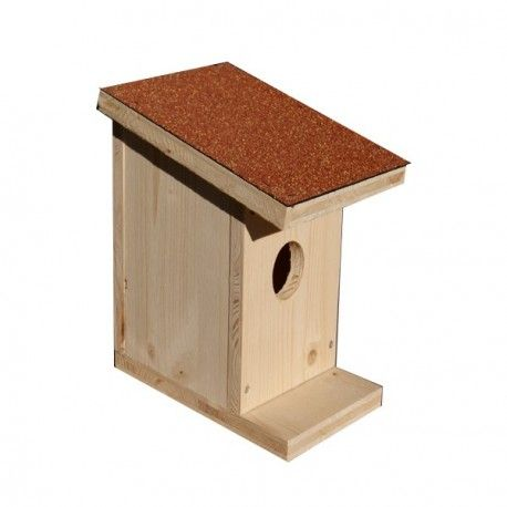 Une Idée pour nos animaux :  Nichoir à oiseaux en bois toit rouge Mettez un nichoirs à moineaux, merles, mésanges....Ils viendront se nourrir dans votre jardin. Fait en panneaux pleins de 19mm d'épaisseur avec un petit toit en shingle. http://www.lafermesauvegrain.com/nichoir-a-oiseaux/205-nichoir-a-oiseaux-en-bois-toit-rouge.html