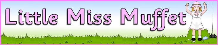 Little Miss Muffet display banner (SB8962) - SparkleBox