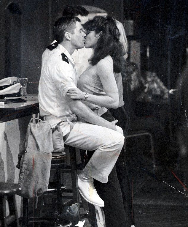 """Richard Gere and Debra Winger in """"An Officer and a Gentleman"""", 1982. my fav movie"""