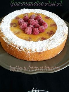 Supplice au Citron et Framboise