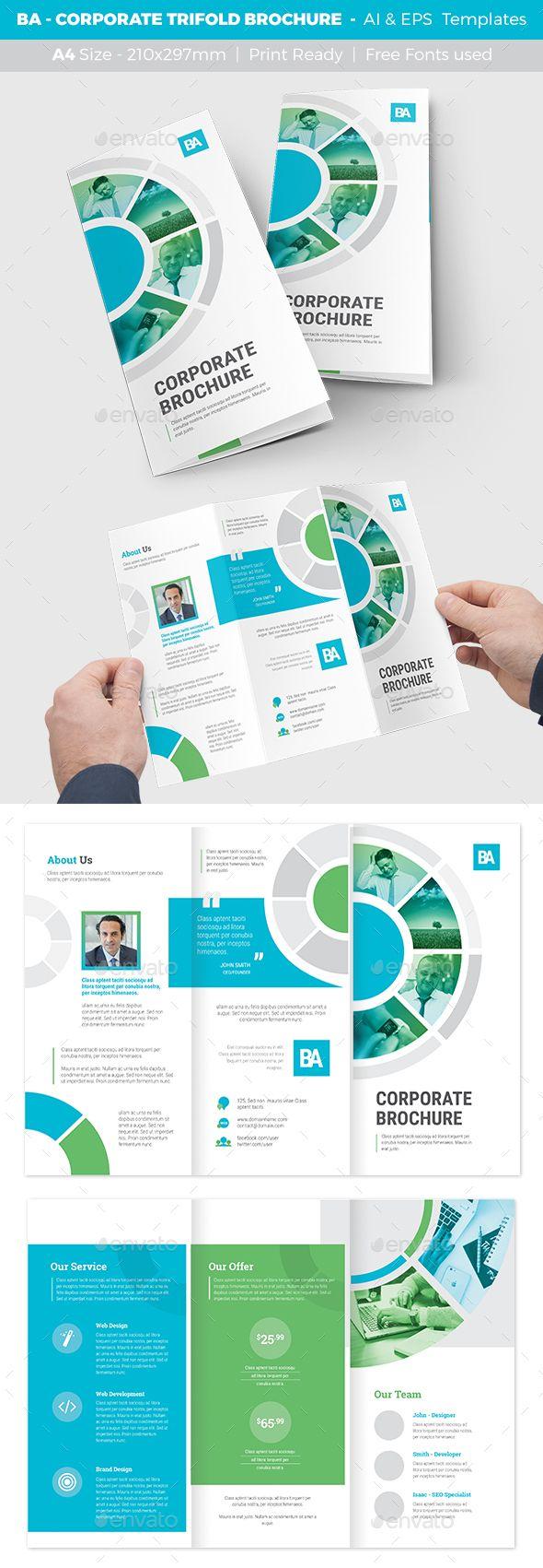 Fein Informative Broschüre Vorlage Fotos - Entry Level Resume ...