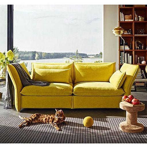 mariposa sofa, vitra