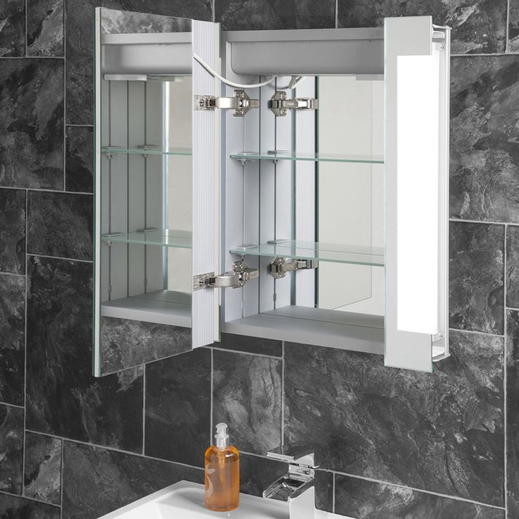 LED Bathroom Mirror Cabinets