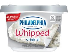 Philadelphia Whipped Cream Cheese Spread  (Chive, my fave!)