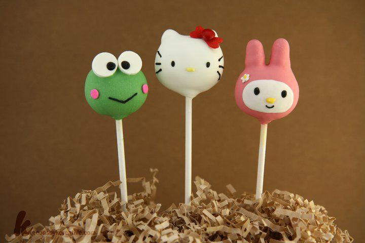 hello kitty cake pops - photo #22