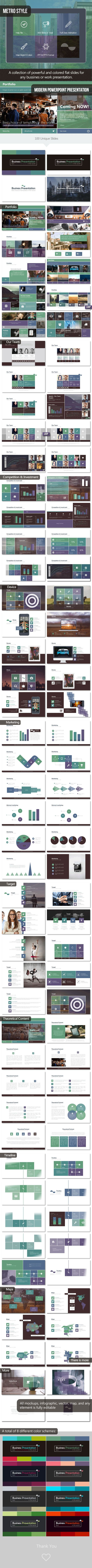 The 25 best business ppt ideas on pinterest business powerpoint business ppt metro style template design slides download http toneelgroepblik Image collections