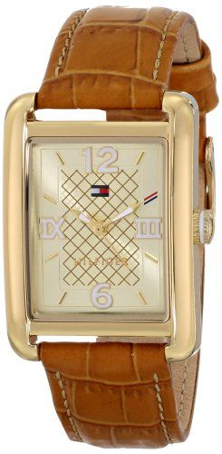 Women's Wrist Watches - Tommy Hilfiger Womens 1781407 Analog Display Quartz Brown Watch * More info could be found at the image url.