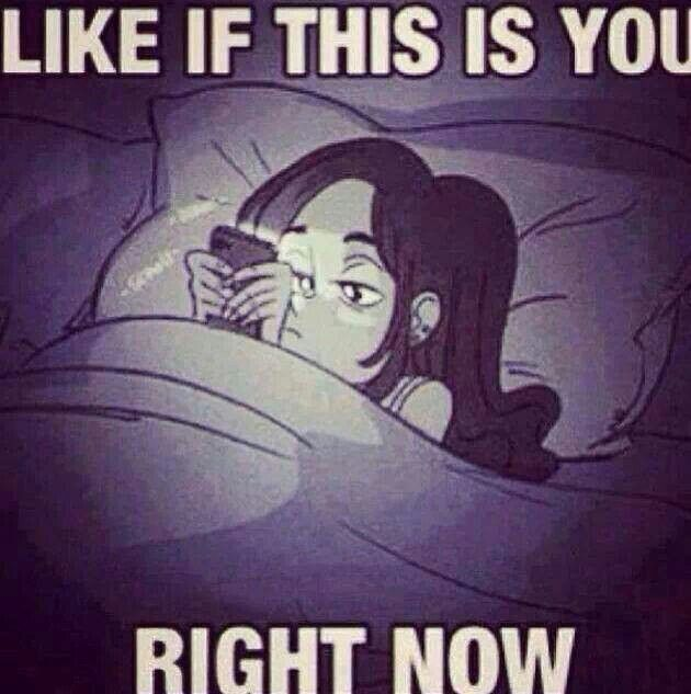 Is this you in the middle of the night???