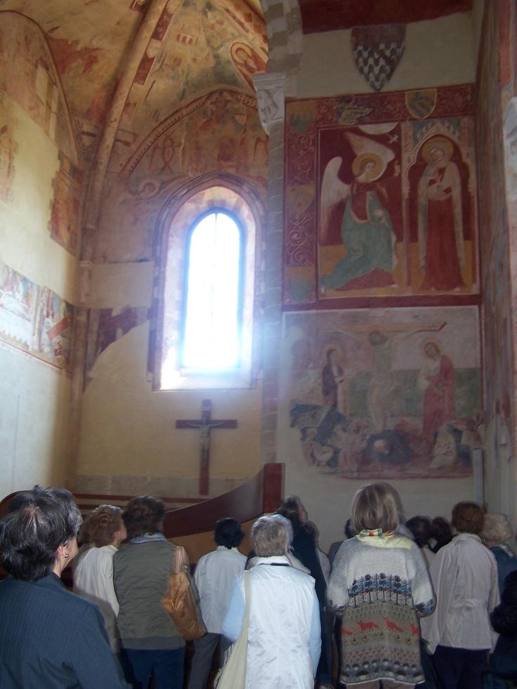 Alla scoperta degli affreschi Bizantini