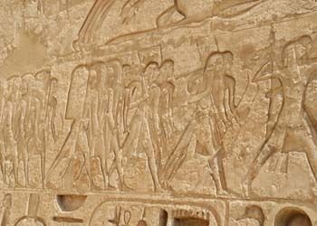 Egyptian Soldiers on a hunting expedition