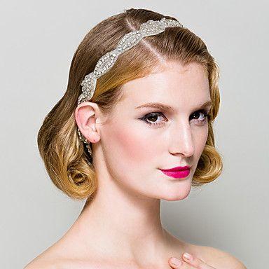 handgemaakte strass bruiloft / speciale gelegenheid hoofdband hoofddeksel / sjerpen - EUR € 21.48