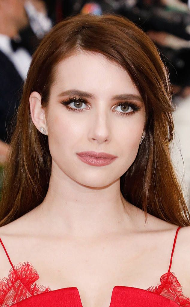 Emma Roberts from 2017 Met Gala: Best Beauty  Emma's bronzed smoky eye is a classic, but the extra pigment makes it feel just dressed up enough for the occasion.