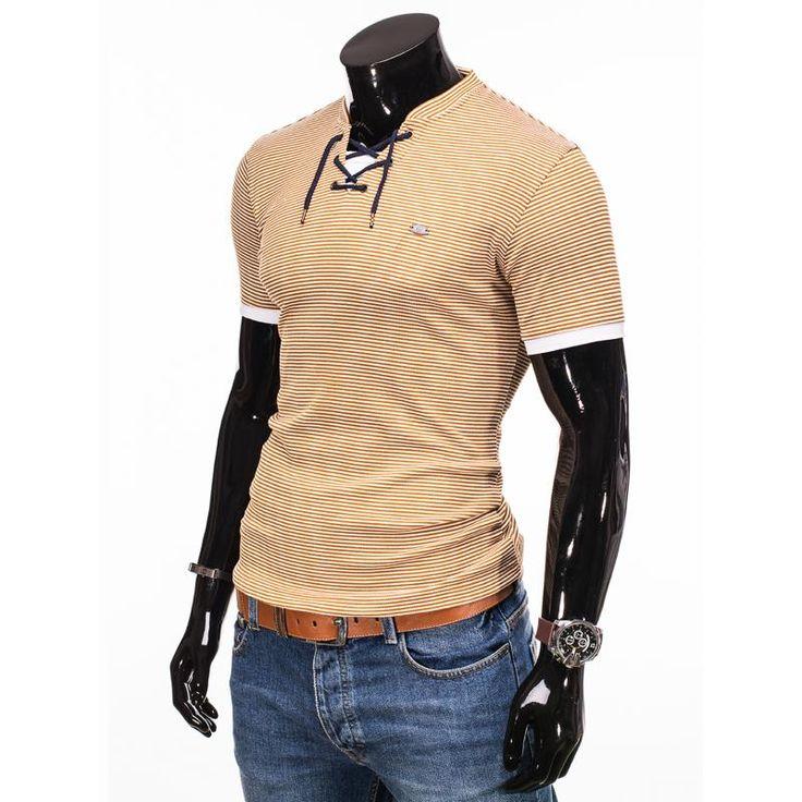 Pánske moderné tričko zo 100% bavlny