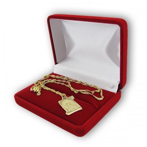 Złoty medalik, z wizerunkiem Matki Bożej z dzieciątkiem z pamiątkowym grawerem po drugiej stronie. http://prezentynakomunie.pl/bizuteria_zlota,c,3241