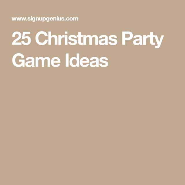 25 Christmas Party Game Ideas Part - 36: 24 Best Christmas Games Images On Pinterest | 50th Birthday, Adult Party  Games And Birthday Ideas