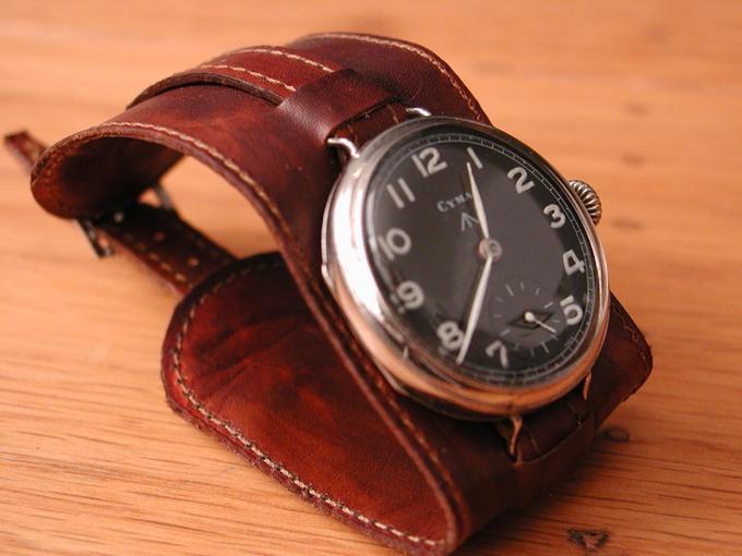 Dieselpunk watch.