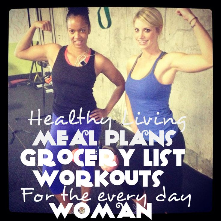 Healthy living for women and moms. Grocery list, meal plans and workout ideas. Great resource, pin now, read later!