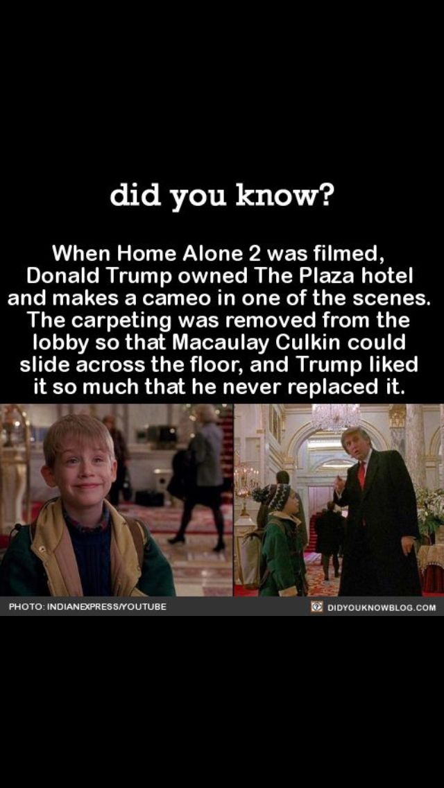 I remember this scene. How did I not notice this?! He answer casually after Kevin asks for directions inside the hotel like it's normal for a kid to be alone in a hotel then does a double-take on Kevin as he walks away.