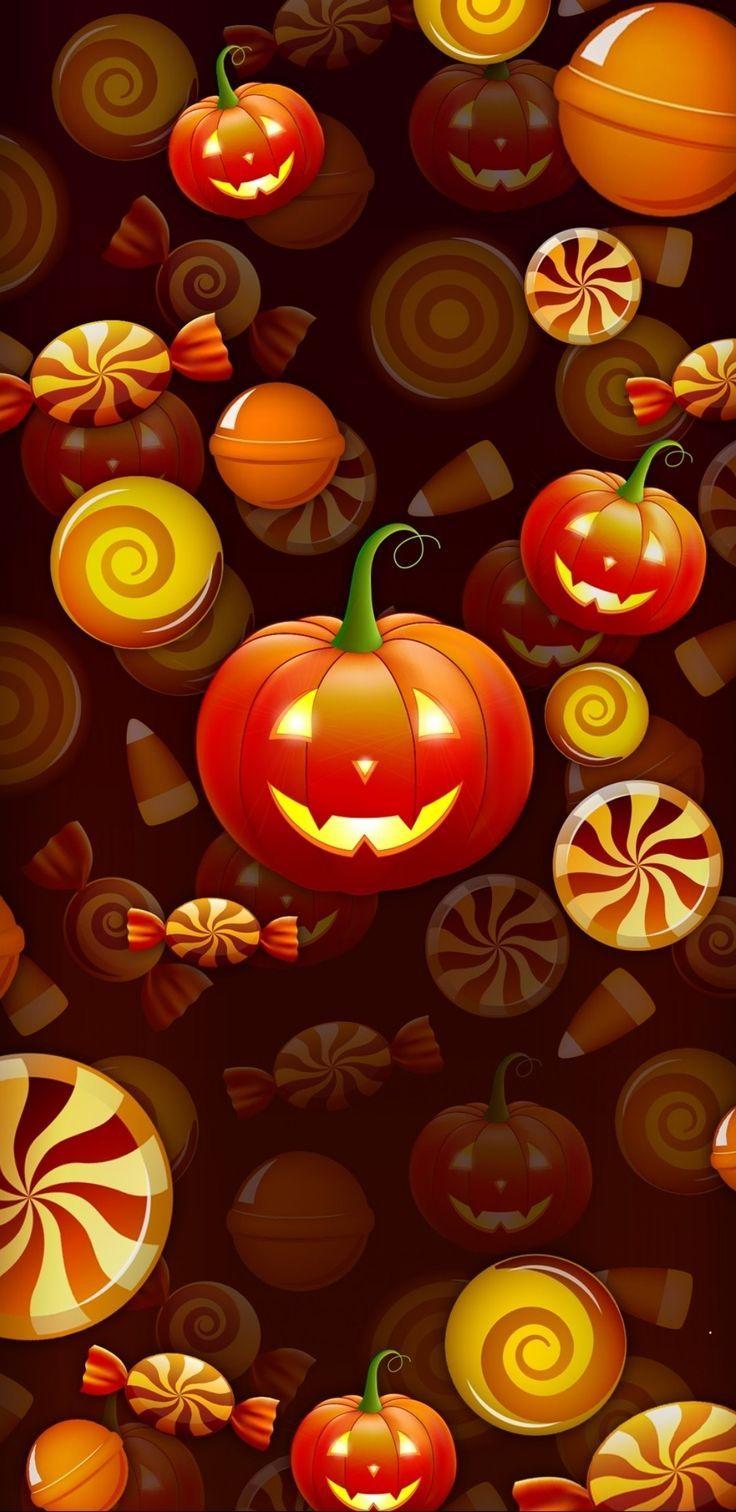 Halloween Wallpaper Halloween Halloweenwallpaperorange