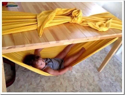 Instant Toddler Hammock What fun for an afternoon at grandma's house