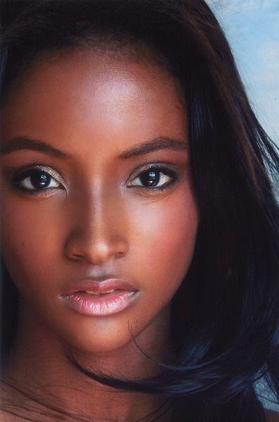 Dark skin ebony amateur congratulate