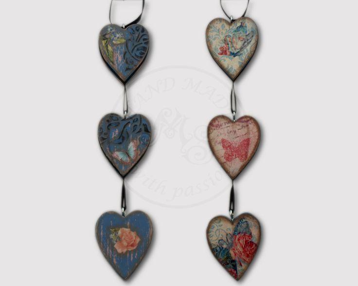 Three Hearts - the Valentine's decoration.