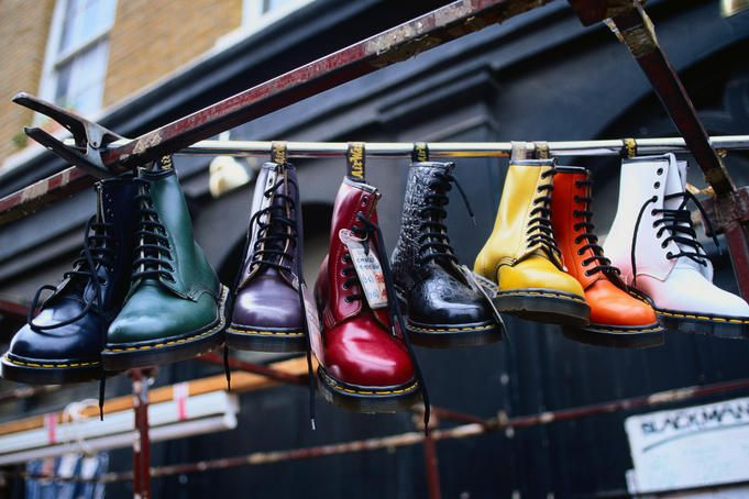 Brick Lane, London, I will wear my Docs when I travel here.