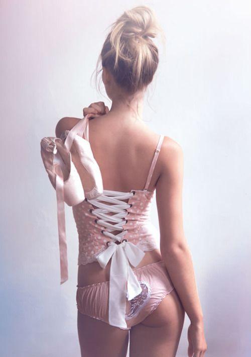 """Ballerina Lover"" collection by Karol Martins lingerie"