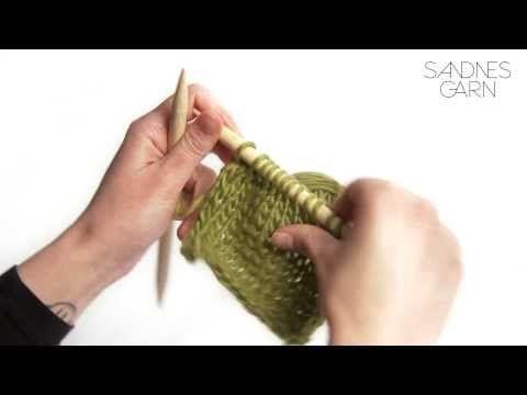 Sandnes Garn - Hvordan minske antall masker - YouTube