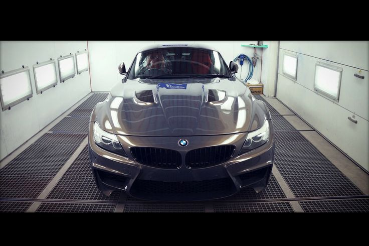 Japanese Wide Body Tune for BMW Z4 E89 Hardtop Roadster - Carscoops