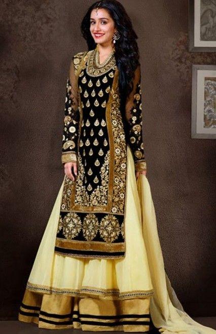 Shop Salwar Kameez online from our latest collection of branded and designer Salwar Kameez.