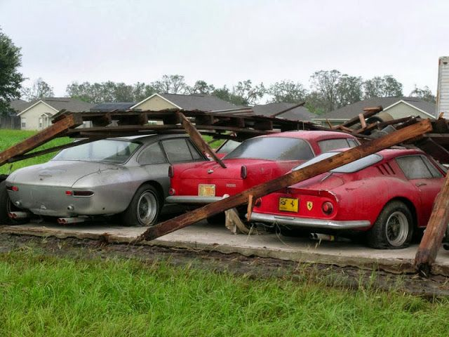 Abandoned Ferraris