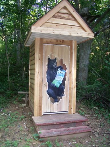 Outhouse Designs for Sinks | Outhouse door Massanutten Archery Club outdoor range Bentonville VA & 19 best Outhouse Designs - Outside and Inside images on Pinterest ...