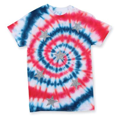 fourth of july tie dye shirts