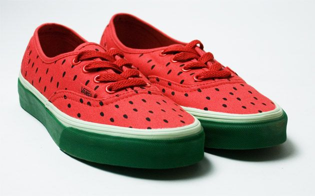 : Running Shoes, Fashion, Style, Vans Sandía, Watermelon Shoes, Watermelon Vans, National Watermelon, Sneakers, Products