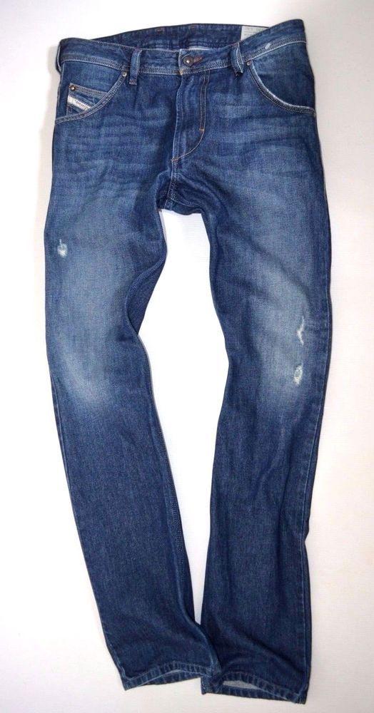 3e20d8ffe3e mens DIESEL KROOLEY 0RP13 Zip Fly Regular Slim Carrot leg JEANS size W29  L32 | Pinterest | Diesel jeans and Diesel