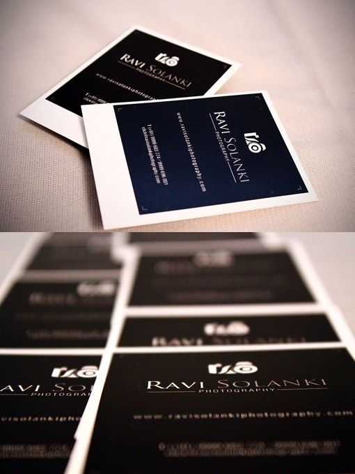 211 best business cards images on pinterest business cards carte photography business card by ravi solanki i love that it looks like a polaroid so reheart Images