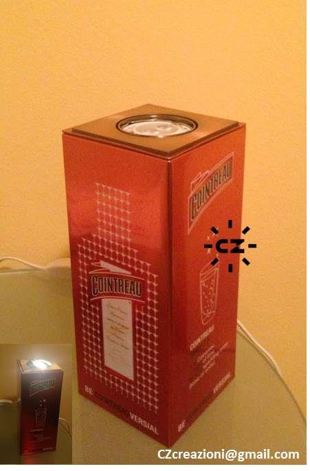 LampAlcool Cocktail Ingredienti miscelati con sapienza accendono la notte.