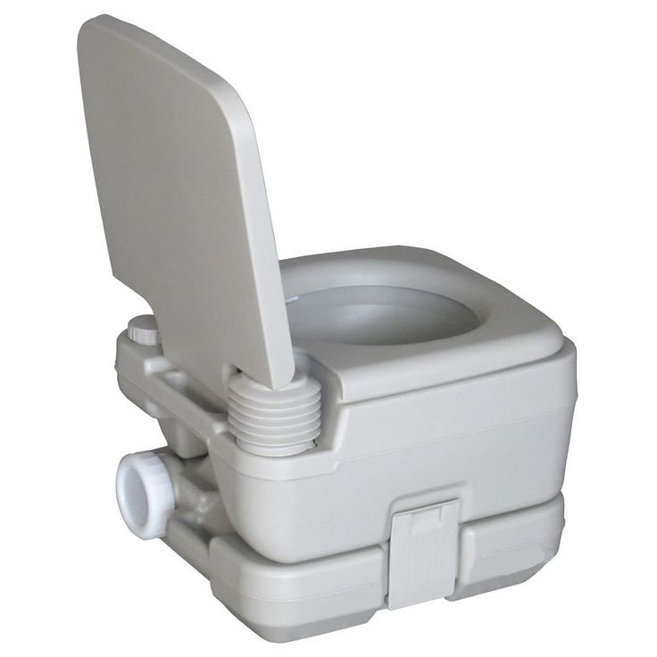 CHH-1010 10L Portable Removable Flushing Toilet Outdoor Camping Potty
