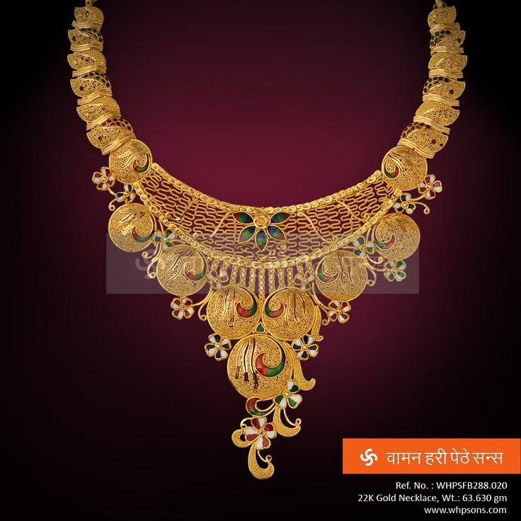 The Necklace ... Oozing authenticity and royalty