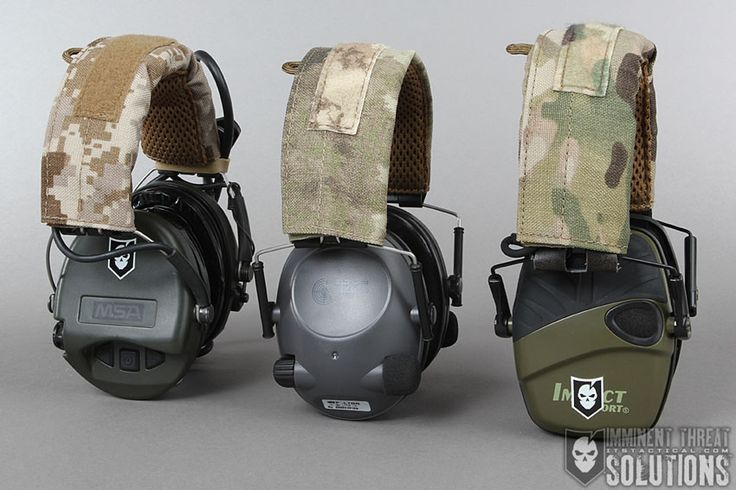 OC Tactical Hearing Protection Covers - Made of 1000D CORDURA®, each Hearing Protection Cover is handmade in the US and designed to add comfort to the most popular models of ear protection devices. http://itstac.tc/1pptJRt