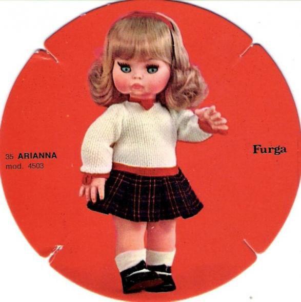 Arianna fuirga 35cm catalogo dolly do