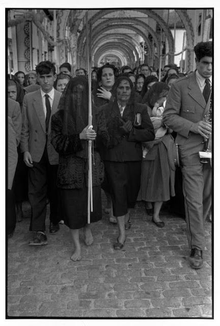 Henri Cartier-Bresson en Portugal. 1955.