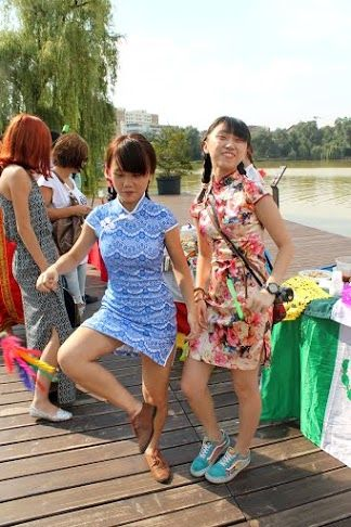 Hong Kong girls.