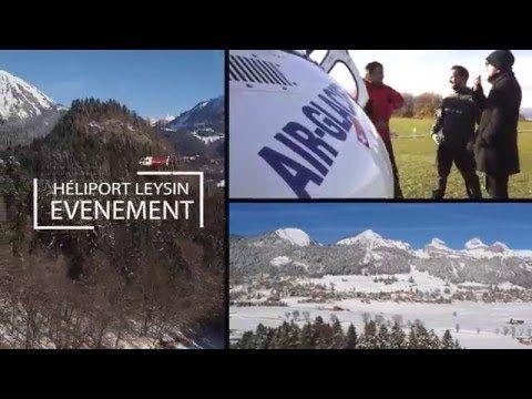 Campagne de promotion en ligne et stratégie digitale pour Air Glaciers Leysin - Héliport Leysin
