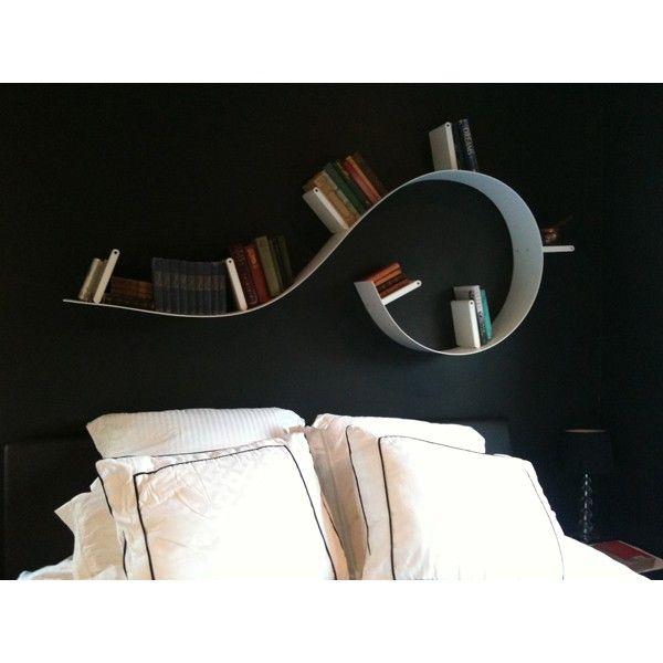 Bibliotheque Bookworm Kartell PM rouge - Ideesboutique com