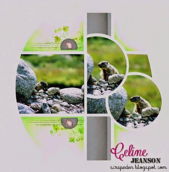Animatrice AZZA - Scrap Eden De Celine JEANSON: Marmotte