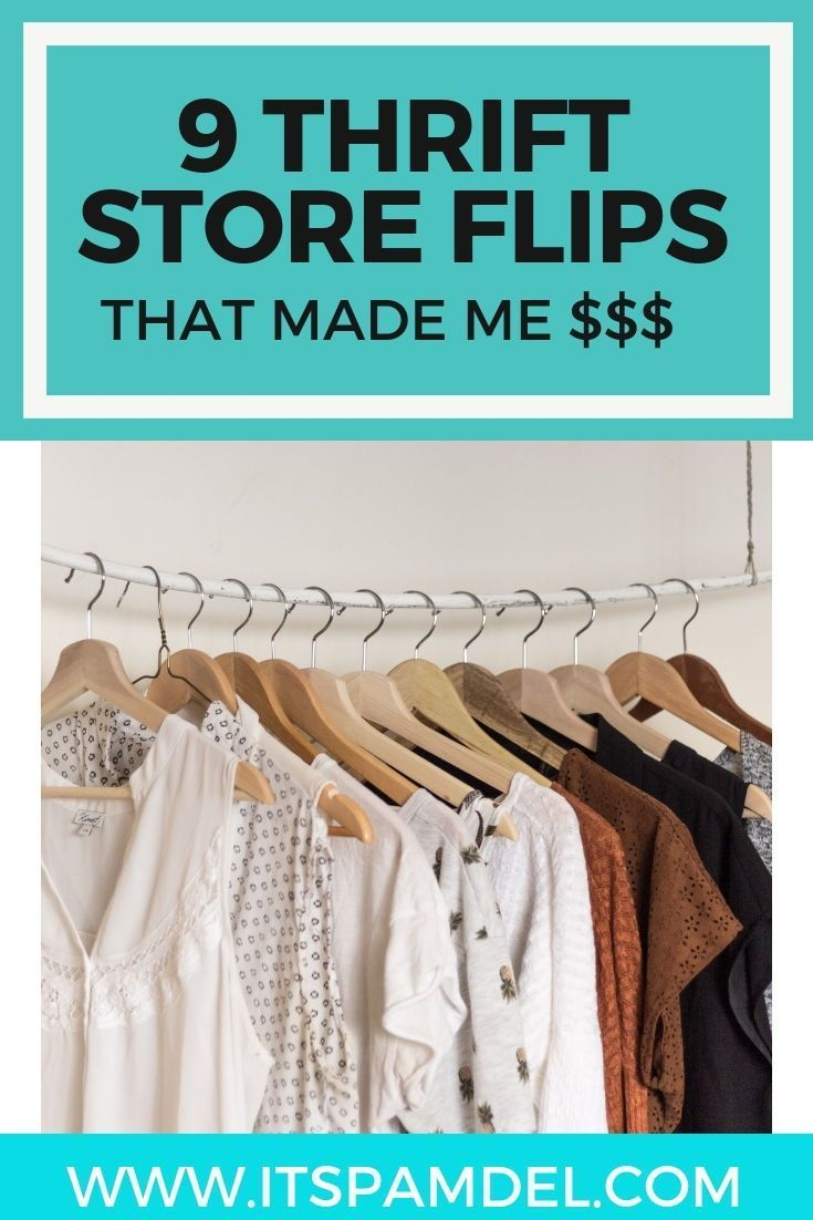 9 Items I Flipped For A Profit With Images Reselling Thrift