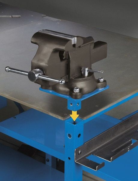 Miller 300611 S-Series ArcStation Welding Table Vise Kit                                                                                                                                                                                 Plus