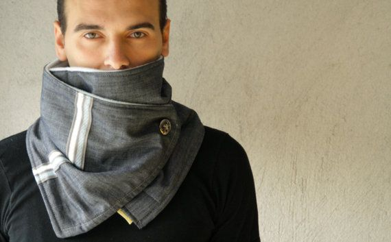 SCARVE scarf cowl UNISEX scarve. Men and Women by kitrino on Etsy